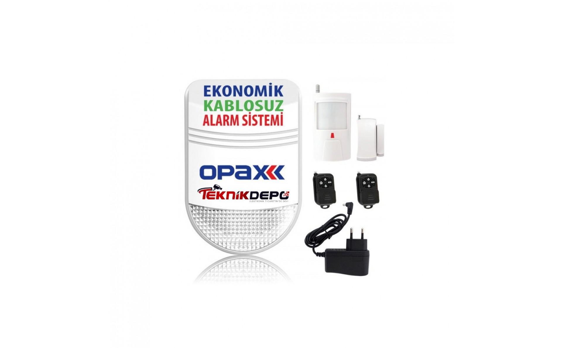 Opax BGR 06 Ekonomik Alarm Seti