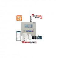 OPAX-2545 GSM/SMS/PSTN Özellikli Alarm Paneli